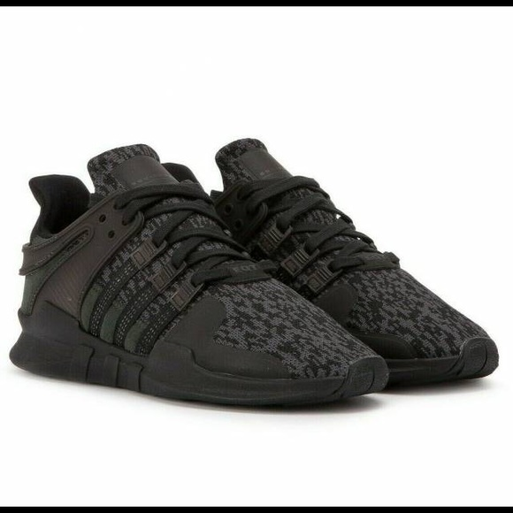 low priced e5713 cdbe8 Adidas EQT Triple Black Camo